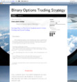 60 Seconds Binary Options Strategy 2013