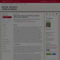 Body odour disgust sensitivity predicts authoritarian attitudes | Royal Society Open Science