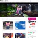 歌素材・アレンジインストBGM配信サイト | Trial & Error サイトTOPサムネイル画像