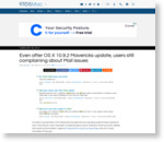 Even after OS X 10.9.2 Mavericks update, users still complaining about Mail issues