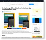 Notifyr brings iOS notifications to the Mac; djay 2 adds 20 million songs