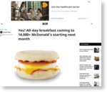 Yes! All-day breakfast coming to 14,000+ McDonald's starting next month