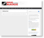 Doug McKenzie Jazz Piano