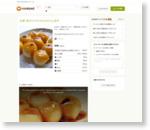 豆腐+粉だけ!やゎやゎみたらし団子 by にゃぁくん [クックパッド] 簡単おいしいみんなのレシピが159万品