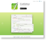CotEditor -Text Editor for OS X