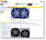「雪の結晶に同じものは二つとない」という定説が覆される