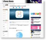 iOS8の利用率が発表から約6週間でようやく50%を突破! - iPhone Mania