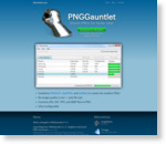 PNGGauntlet - PNG Compression Software | BenHollis.net