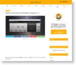 ドラムトラックの接着剤。クリアにまとめるバスコンプ Solid Bus Compレビュー【KOMPLETE】 : SynthSonic