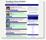 Breaking News English Lessons: Easy English News | Current Events