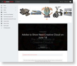 Adobe to Show Next Creative Cloud on June 18