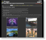 FRAPS game capture video recorder fps viewer