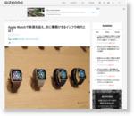 Apple Watchで終焉を迎え、次に幕開けするインフラ時代とは? : ギズモード・ジャパン
