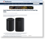 Apple Releases Firmware Update for 2013 Mac Pro to Fix Power Nap Issues