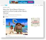 「Moana」モアナの声は14歳のネイティブハワイアン、Auli'i Cravalhoが新たなディズニープリンセスへ