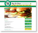 Reg-On Diner レッグオンダイナー オリジナルハンバーガーショップ 渋谷