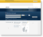 Rejseplanen - query page