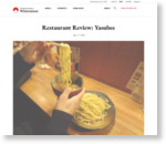 Restaurant Review: Yasubee