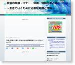 年金、医療、介護…日本の社会保障制度について知っておくこと