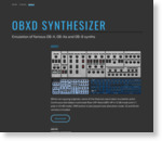 Obxd Synthesizer | Emulation of famous OB-X, OB-Xa and OB-8 synths