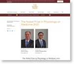 The Nobel Prize in Physiology or Medicine 2021