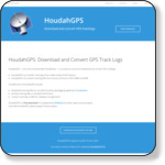 HoudahGPS — Download and convert GPS track log files