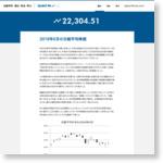 2018年6月の日経平均株価:指数リポート:日経平均 読む・知る・学ぶ