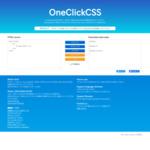 OneClickCSS