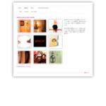 代官山の美容室ポム POMサロン代官山 サイトのキャプチャー画像