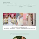 Nuno*ichi 手作りウェディングドレス教室 サイトのキャプチャー画像