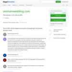結婚式場 ウーマンウェディング サイトのキャプチャー画像