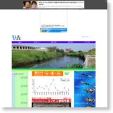 鶴見川でブラックバス釣りのサイトイメージ