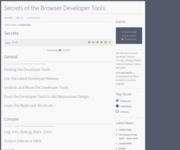 Secrets of the Browser Developer Tools - Secrets