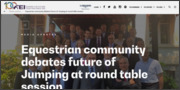 [06/05]Equestrian community debates future of Jumping at round table session