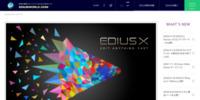 映像編集のソフトウェアEDIUS(エディウス)の総合サイト