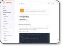 https://laravel.com/docs/5.0/templates