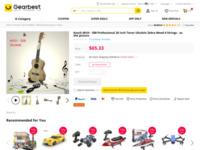 Kasch MUH - 508 Professional 26 inch Soprano Ukulele Zebra Wood 4 Strings-33.57   GearBest.com
