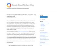 Google、1GB当たり1セントながら3秒以内にデータ取得できるニアラインストレージ「Cloud Storage Nearline」提供開始