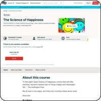 TheScienceofHappinessX