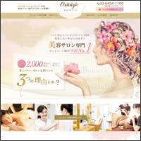 美容に特化したサロン向けホームページ