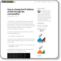 http://www.yellow-bricks.com/2013/05/27/how-to-change-the-ip-address-of-esxi-through-the-commandline/