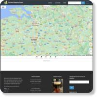 Belgium beer map