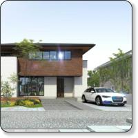 建築CGパースのデザインポート