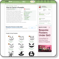 http://www.wikihow.com/Carve-a-Pumpkin