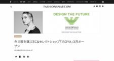 トピックス | 色で服を選ぶEC&セレクトショップ「IROYA」3月オープン | Fashionsnap.com