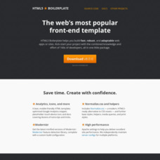 HTML5 Boilerplate: The webs most popular front-end template