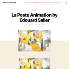 Looks like good La Poste Animation by Edouard Salier