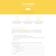 Crumpet – A Deliciously Simple Framework