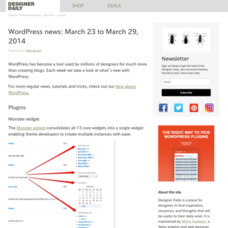 WordPress news: March 23 to March 29, 2014