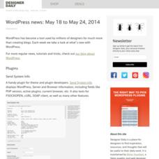 WordPress news: May 18 to May 24, 2014
